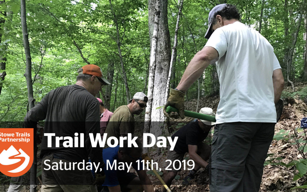 STP's Spring Trail Work Day