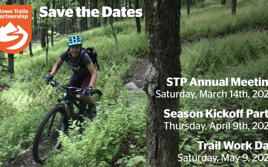 Save the Date for STP Spring Events